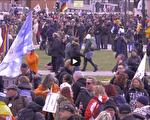 多国民众反疫情封锁 德国逾两万人游行