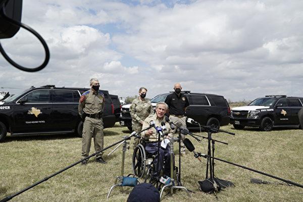 非法移民湧入 德州州長稱邊境局勢危機
