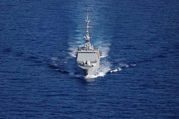 對抗中共 歐洲三強國展開「炮艦外交」