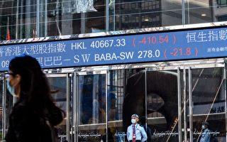 中国股市陷入2015年来最严重衰退