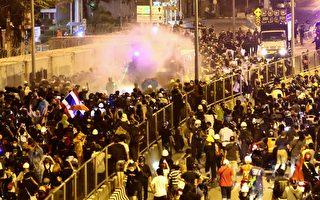 組圖:泰國民眾上街抗議 要求王室放棄軍權