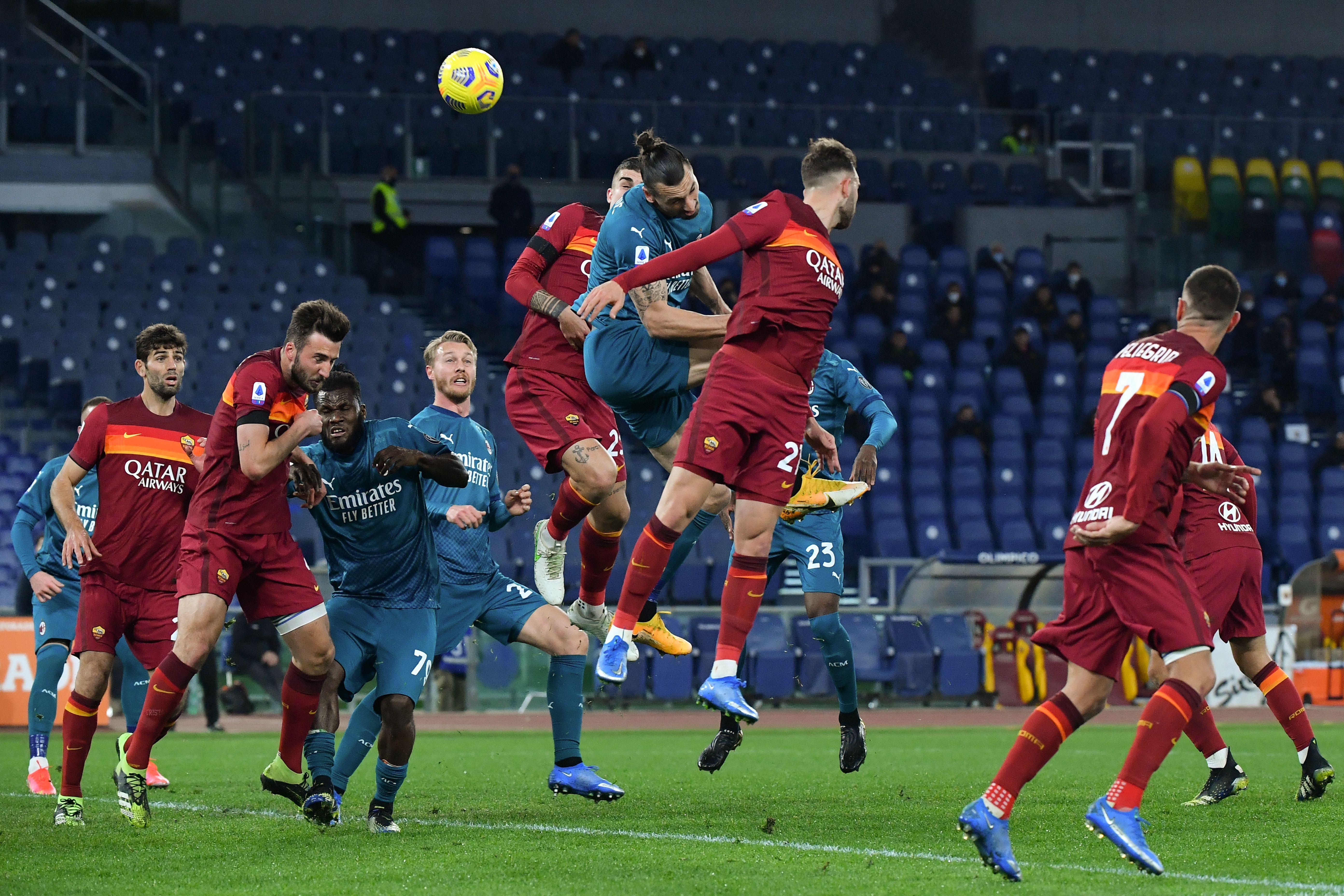 AC米兰在客场2:1战胜罗马