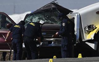 載偷渡客SUV撞車13死 後續:9人重傷