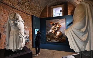 組圖:意大利舉行「拿破侖與羅馬神話」展