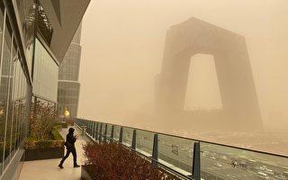 沙尘扩散至长江流域  11省区仍有扬沙天气