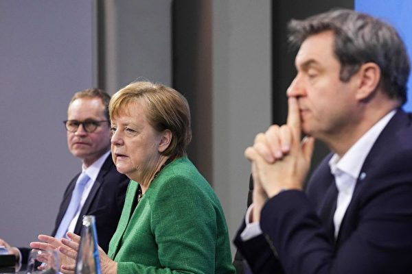 德國復活節將全面封鎖 默克爾強調在家休息
