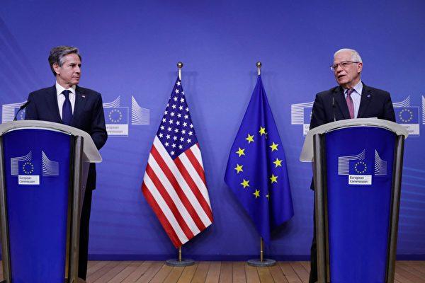 应对北京挑战 美欧重启中国议题对话机制