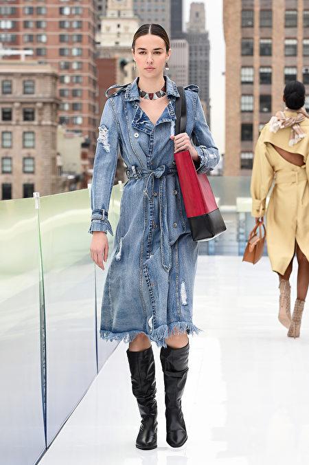 時尚, 穿搭, 牛仔, 時裝週