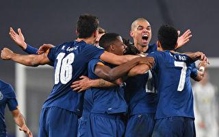 欧冠16强次回合:梅西和C罗双双无缘八强