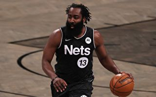 NBA:哈登加盟後九次三雙 籃網主場勝活塞