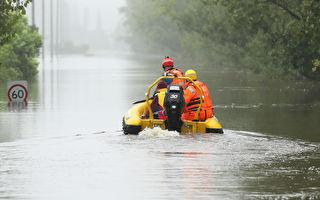 洪災持續惡化 新州又有1.5萬人準備隨時撤離