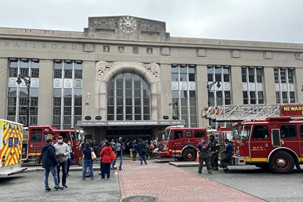 纽瓦克火车站发生火灾 公交车火车服务延误