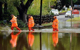 新州洪水緩和 3000人已返家 2萬依然被困