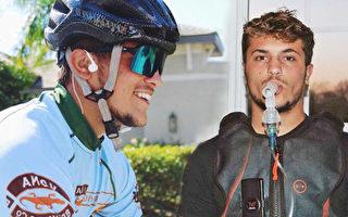 肺纖維化少年破馬拉松紀錄 欲參加鐵人三項賽