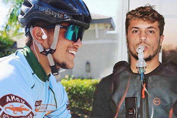 肺纤维化少年破马拉松纪录 欲参加铁人三项赛