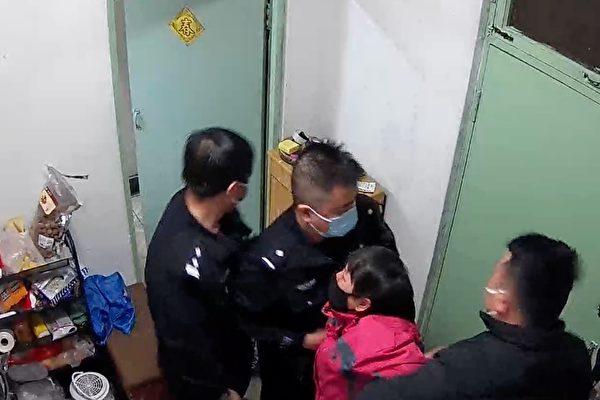 給老父親送粥 北京法輪功學員霍志芳遭綁架