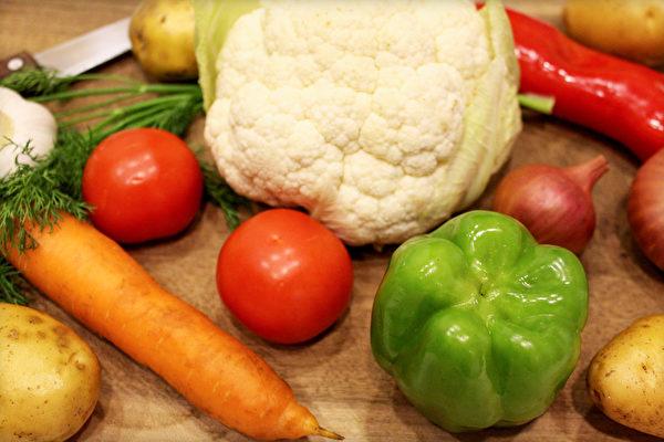 美国国家癌症研究所发布的有抗癌功效的食物金字塔,哪些食物在顶端?(Shutterstock)