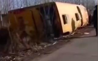 北大荒農墾集團農場客車側翻 5死10傷