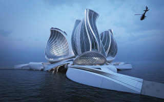 驚人設計 海上漂浮站利用潮汐能淨化海洋