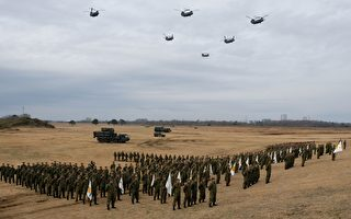 防范中共 日本秋天将举行最大规模军事演习