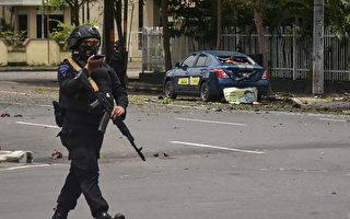 印尼教堂遭自殺炸彈客攻擊 20傷2嫌犯死亡