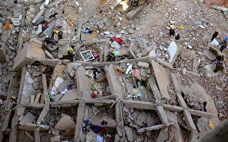 組圖:埃及大樓倒塌 造成至少25死26傷