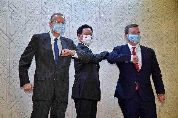 台帛旅游泡泡 美大使:深化美国两好友情谊