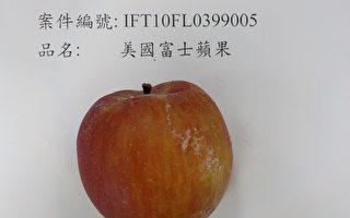 好市多蘋果被驗出農藥超標 2萬公斤遭退運