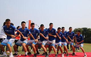 國際標準足球場動工 豐田國中足球隊跳舞慶祝