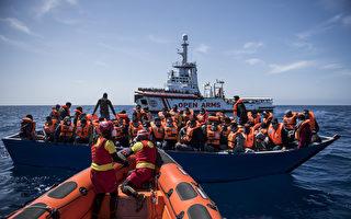 組圖:西班牙非政府組織營救海上移民