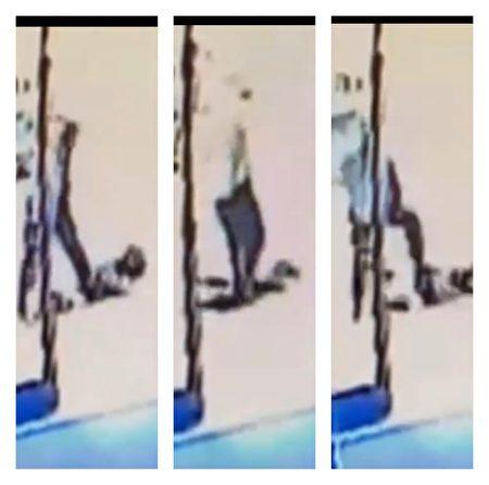 一名65歲的亞裔婦女在曼哈頓中城遭非裔壯漢連續狠踹腹部和頭部。