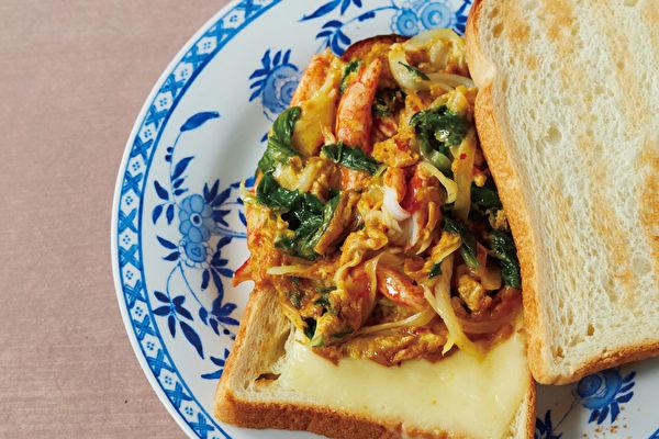 泰国菜变身三明治 异国美味清爽不冲突
