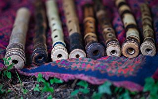 印度神奇的笛子 只要挥动就会发出乐音