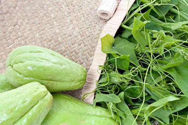 """龙须菜的正式名称是""""隼人瓜苗"""",采摘自隼人瓜茎蔓的嫩芽。(Shutterstock)"""