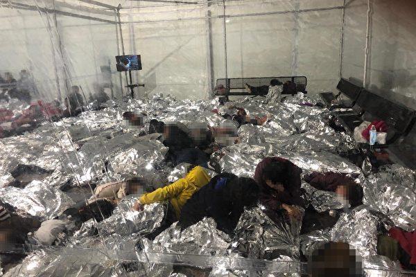 拜登政府開設新設施安置非法移民兒童