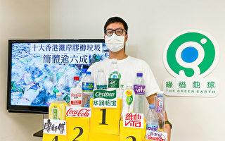 香港环团净滩活动回收过万胶樽 六成为简体字品牌