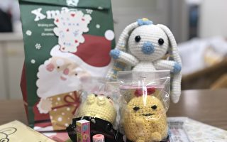 癌友編織娃娃禮物包  贈送病童揪感心