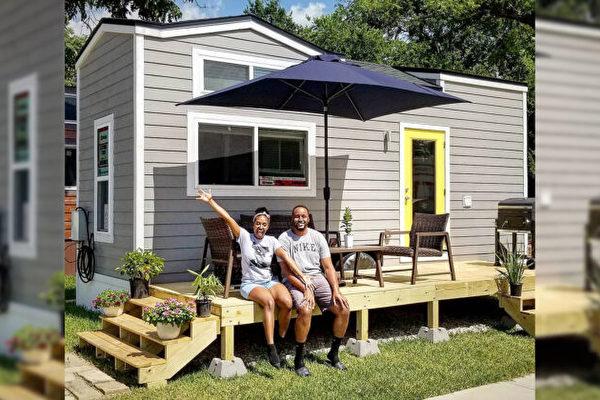 夫妇缩小房屋面积 2年还清12.5万美元债务