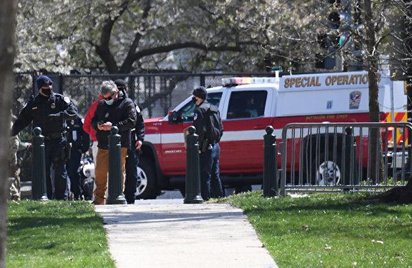 美国国会大厦外袭击 警员1死1伤 嫌犯已经死亡; 该嫌犯是激进组织伊斯兰国家的成员
