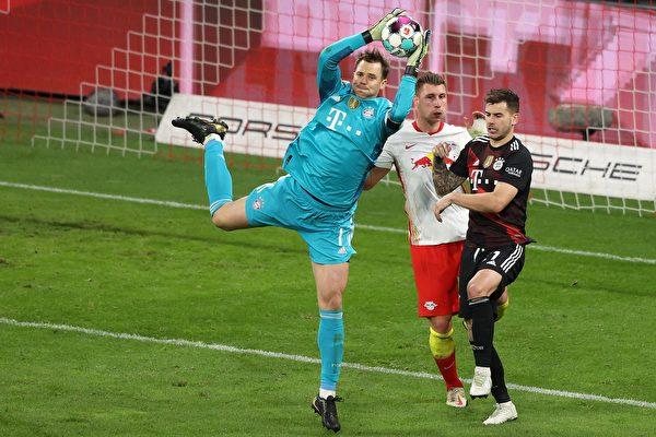 組圖:德甲法甲「榜首之爭」拜仁和里爾勝出