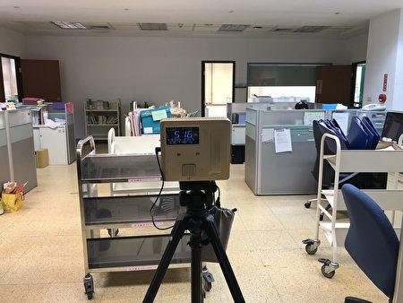 辦公室空氣品質檢測。