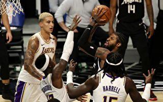 NBA:殘陣湖人不敵快船 公牛主場擊破籃網