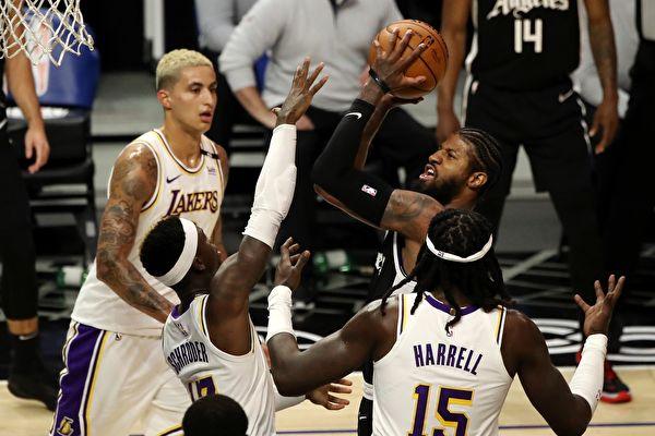 NBA:残阵湖人不敌快船 公牛主场击破篮网