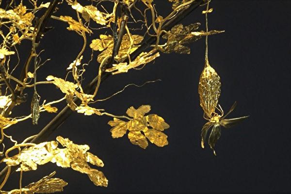 十公斤纯金雕苦瓜一生 台湾大师作品赴美展出
