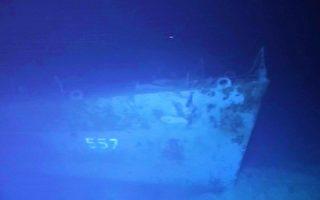 沉睡海底近6500米 美军二战驱逐舰现踪