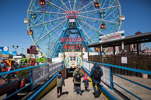 睽违一年 康尼岛游乐园于4月9日重开
