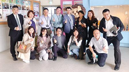產學合作共創健康,桃園療養院參訪萬能科大。