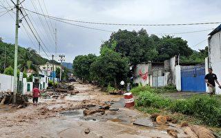 組圖:熱帶風暴襲擊印尼東帝汶 1.5萬人撤離