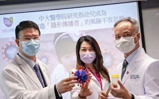 香港研究指幼儿患者病毒载量高