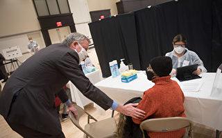 纽约市开26个疫苗点 75岁以上长者无须预约